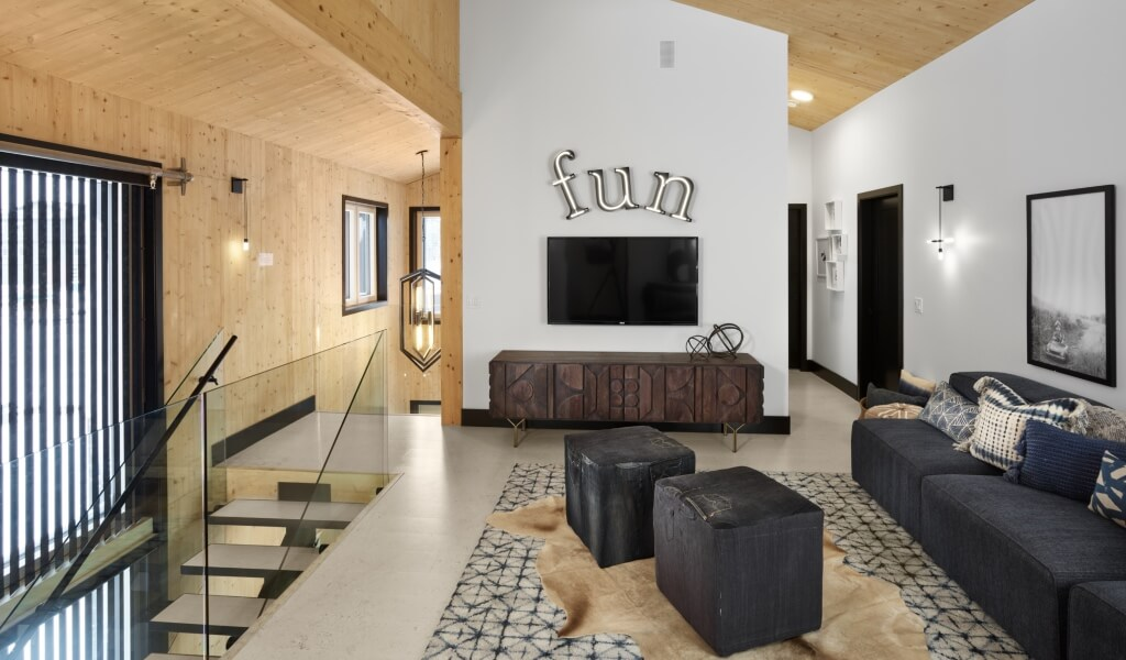 5ee2465f27 ... leather bench that features compartments and transforms into a coffee  table. Take a look at nearby Urban Barn in Crowfoot for some minimalistic  ideas.