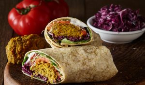 Copper Branch Falafel Wrap
